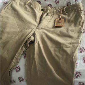 Faherty khaki pants, size 33